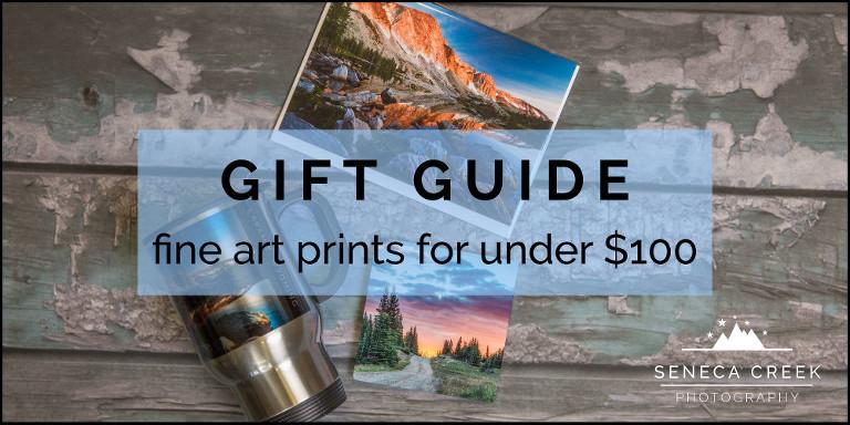 SenecaCreekPhotography.com - Gift Guide: Fine art prints for under $100